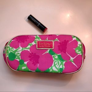 Lilly Pulitzer for Estee Lauder Makeup Bag NEW